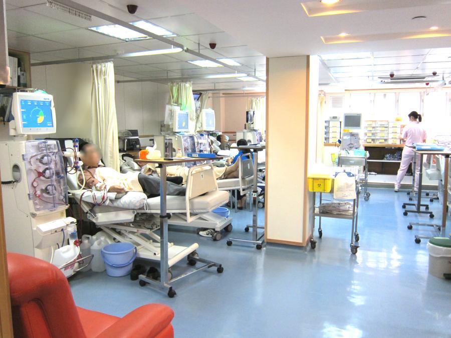 國際獅子會腎病教育中心及研究基金- 陳黃秀華紀念洗腎中心